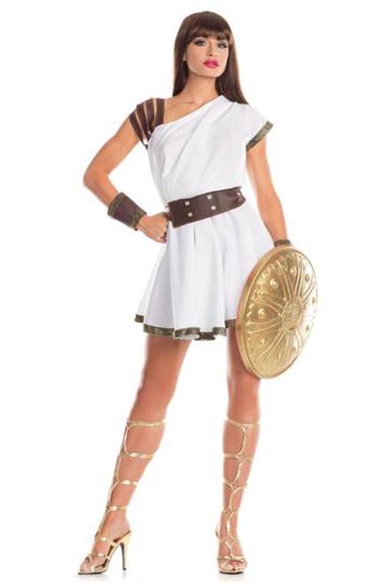 Be Wicked Gallant Gladiatrix 3 PC Ladies Plus Costume