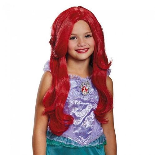 Disney Princess Ariel Little Mermaid Licensed Child Size Wig Ages 4+