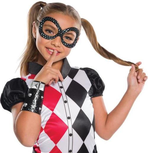 Harley Quinn accessory kit eyemask and wrist band