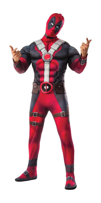 Deadpool Muscle Chest Mens costume
