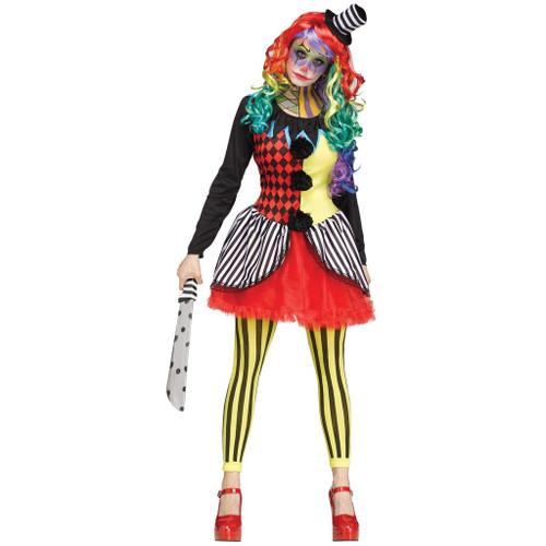 Freakshow Clown Adult Costume