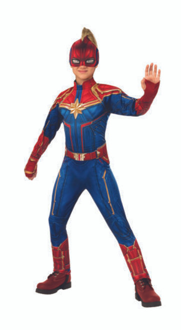 Captain Marvel Hero Suit
