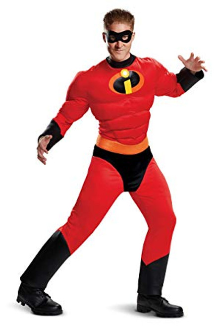 Incredibles 2 Licensed Mr Incredible Classic Mucle Adult Costume