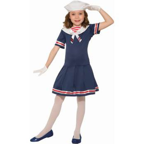 Sailor Girl Kids Costume