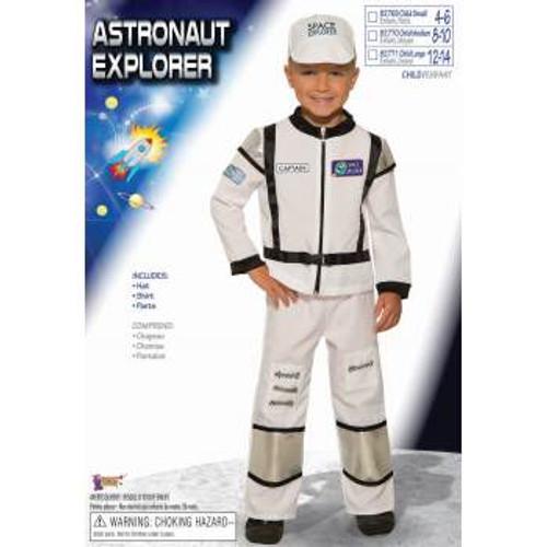 Astronaut Explorer Kids Costume