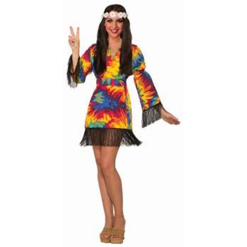 Hippie Tie Dye Dress
