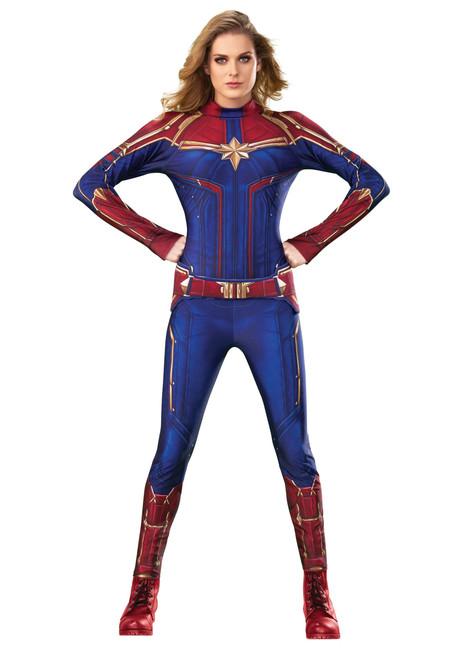 Captain Marvel Licensed Marvel Ladies Jumpsuit