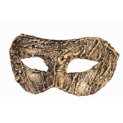 Venetain Half Mask Textured Gold
