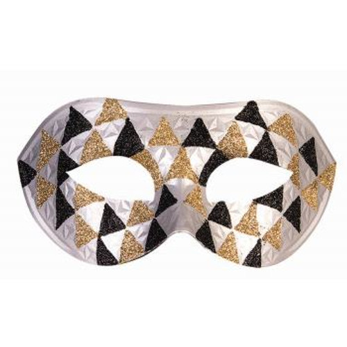 Venetain Half Mask Triangles