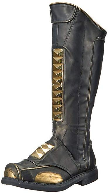 """Men's Knee High 1"""" Stacked Heel Boot"""