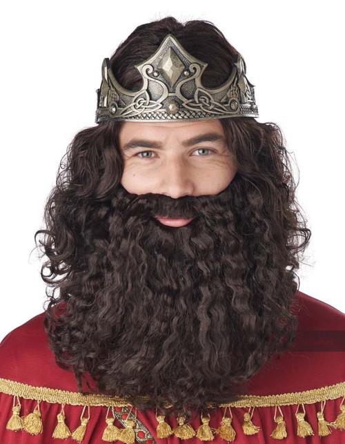 Biblical King Wig and Beard Set