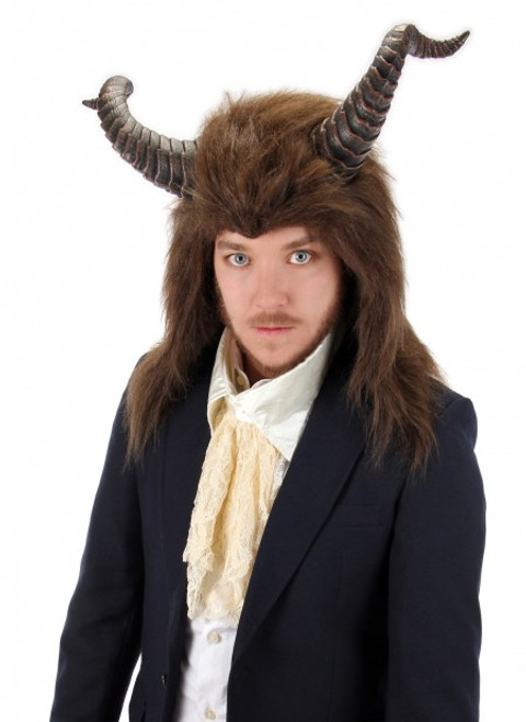 Beast Hood with Horns Licensed Beauty and the beast
