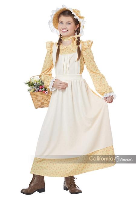 Prairie Girl Kids Costume