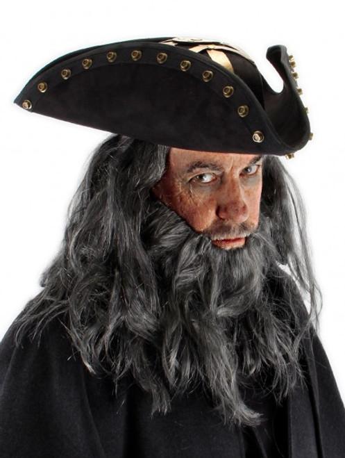Blackbeard Hat Licensed Pirates of the Caribbean