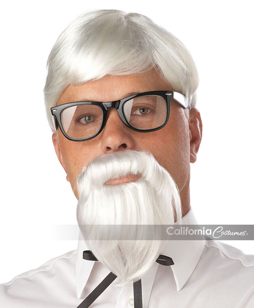 The Colonel Wig, Beard, and Moustache