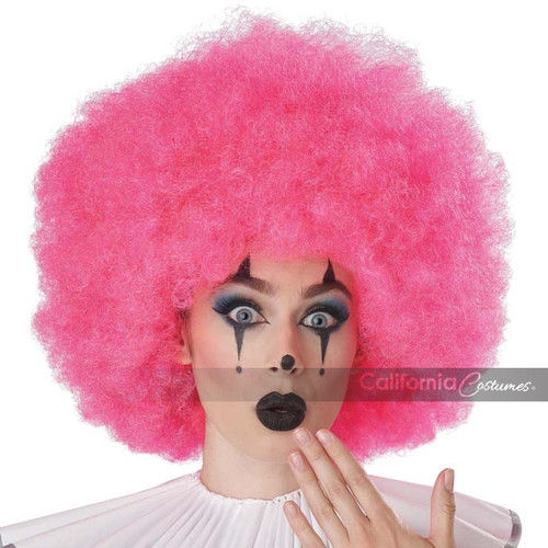 Jumbo Afro Wig Pink