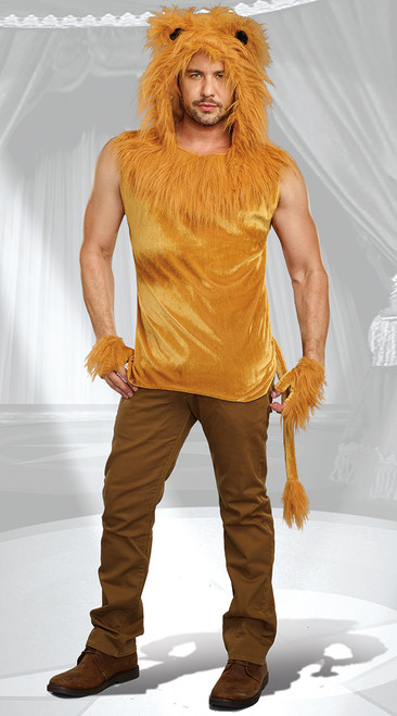 Dreamguys King of the Jungle Mens Costume