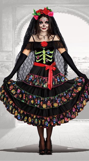 Dreamgirls Lady Of The Dead Ladies Costume
