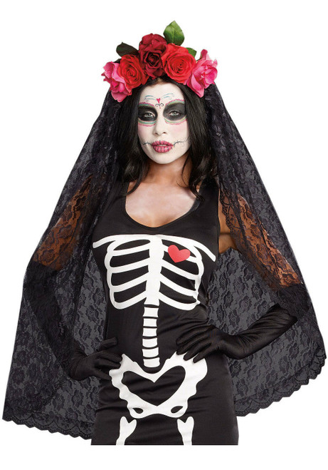 Dreamgirls Day Of The Dead Headpiece