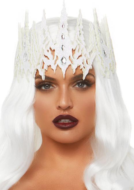 Leg Avenue Glitter Die Cut Jeweled Crown