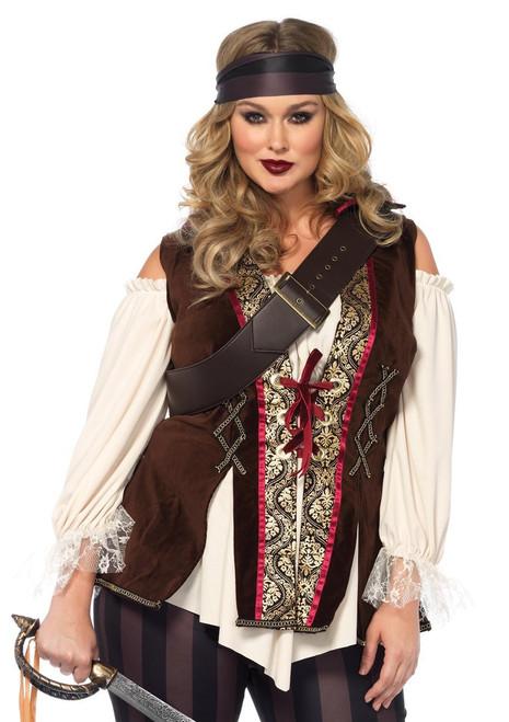 Leg Avenue Captain Blackheart Ladies Plus Costume