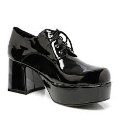 "Pimp Shoes 3"" Men's Heel Disco Platform"