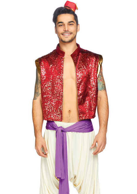 Leg Avenue Desert Prince Mens 3PC Costume