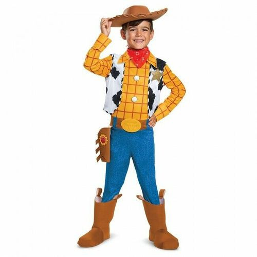Woody Disney Toy Story 4 Deluxe Kids Costume