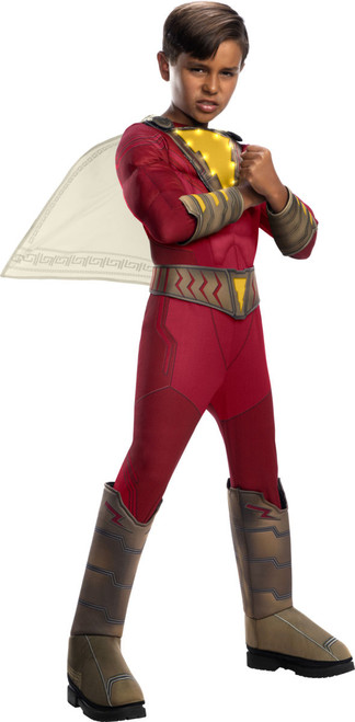 Kids Shazam Costume Deluxe with Lights