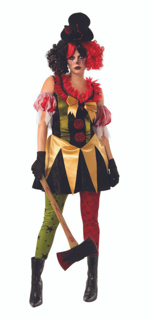 Adult Evil Clown Costume