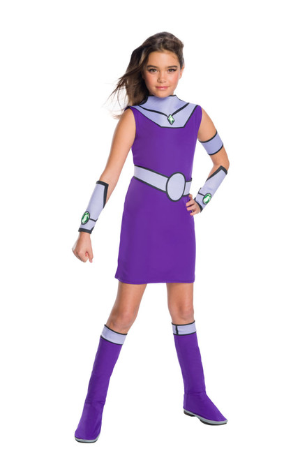 Kids Teen Titans Go Deluxe Starfire Costume