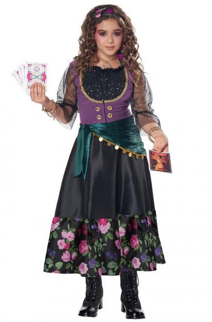Miss T. Fye, Teller Of Fortunes Girls Costume