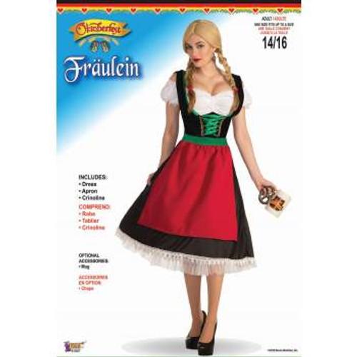 Fraulein Oktoberfest Adult Costume