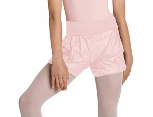Bloch Roll Over Waist Rip Stop Short Girls Dancewear