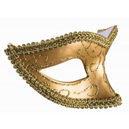 Eye Mask Gold w/ Ribbion