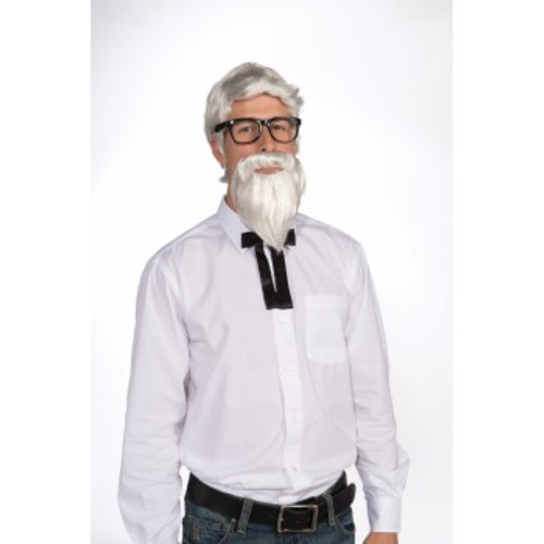 Southern Colonel Wig & Beard