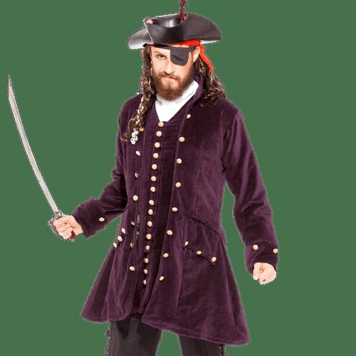 Pirate Captain Anstis Mens Coat