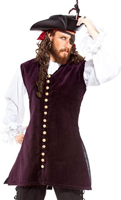 Pirate Captain Anstis Mens Vest