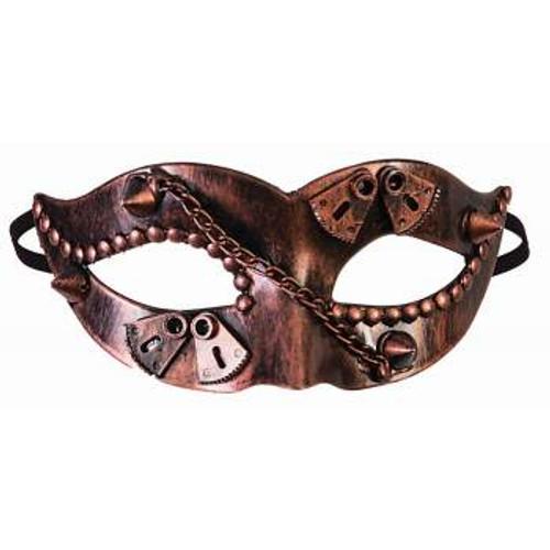 Steampunk Eye Mask w/ Spikes