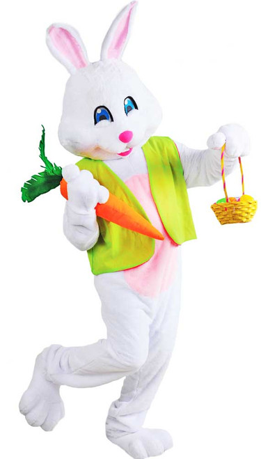 Easter Rabbit Male Bunny Deluxe Costume Mascot