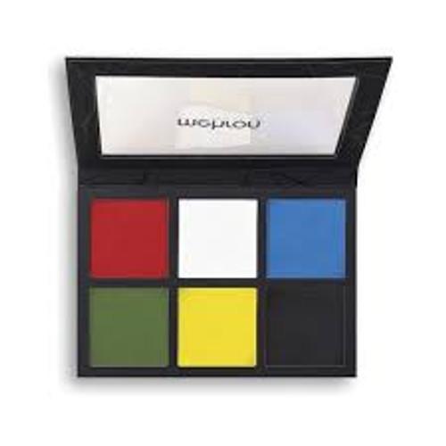 Mehron Edge 6 Color Palette Face And Body Makeup