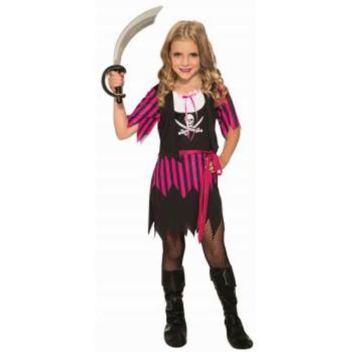 Rosie the Pirate Kids Costume