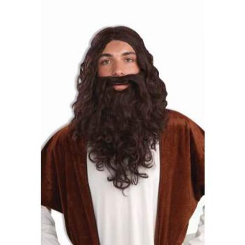 Biblical Wig & Beard Set