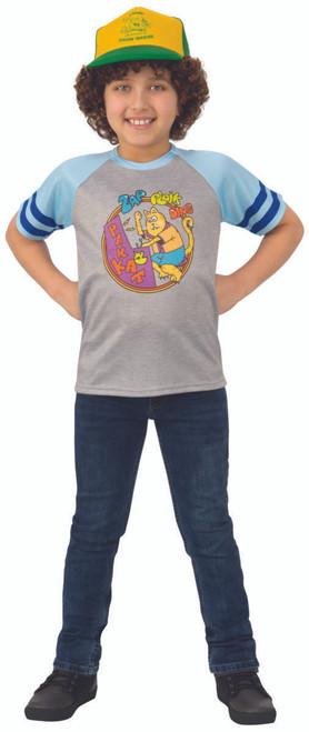 "Kids Stranger Things Dustin's ""Arcade Cats"" T-Shirt"