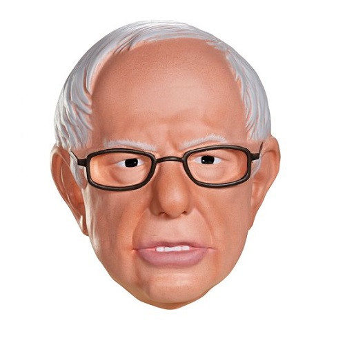 Bernie Sanders Half Mask One Size
