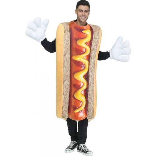 PhotoReal Hot Dog Adult Costume