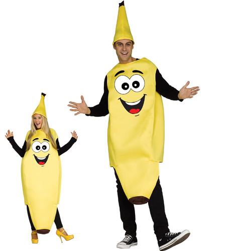 Funny Banana Adult Costume