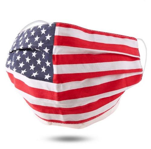 Face Mask Cotton Non-Medical American Flag