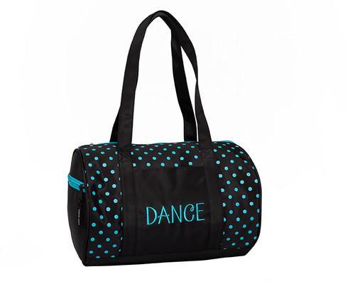 Dots Duffel Teal Bag