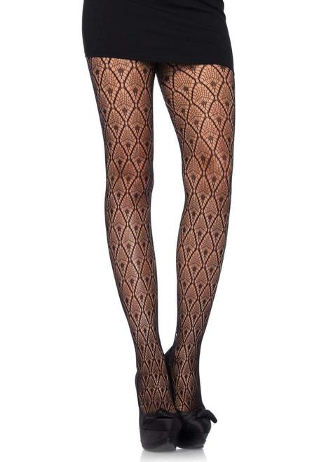 Deco lace tights